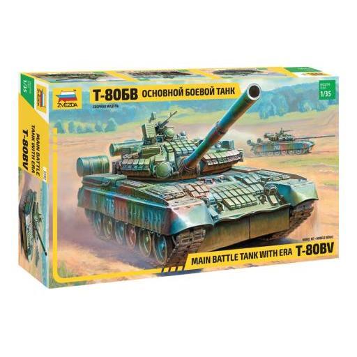 1/35  T-80BV Russian Main Battle Tank
