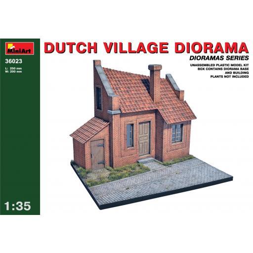 1/35 Dutch Village Diorama