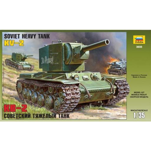 1/35 KV-2 Soviet Heavy Tank