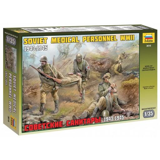 1/35 Soviet Medical Personnel WWII