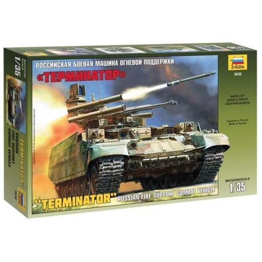 "1/35 ""Terminator"" Russian fire support Combat Vehicle"
