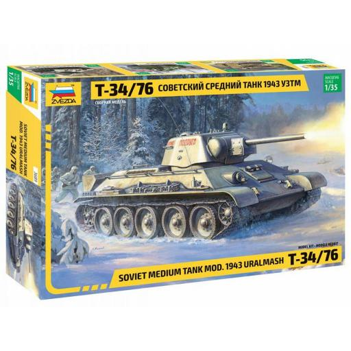 1/35 T-34/76 mod.1943 Uralmash