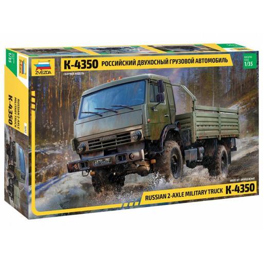 1/35 K-4350 Russian 2-Axle Military Truck [0]