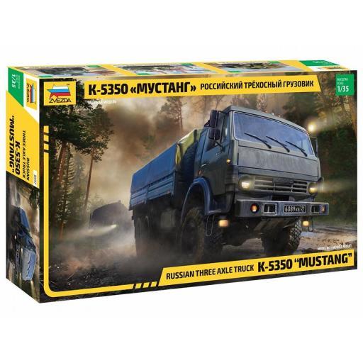 """1/35 Kamaz 5350 """"Mustang"""" Russian 6x6 Truck"""
