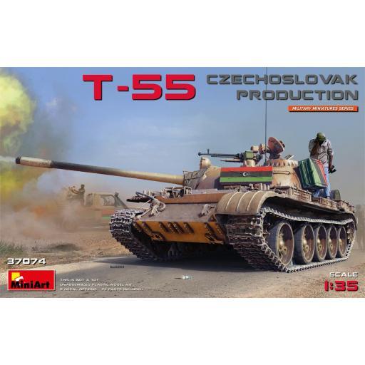 1/35 T-55 Czechoslovak  Production