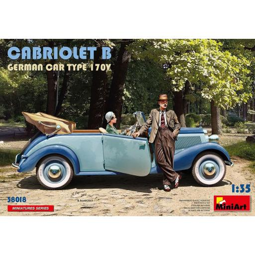 1/35 Cabriolet B German Car Type 170V