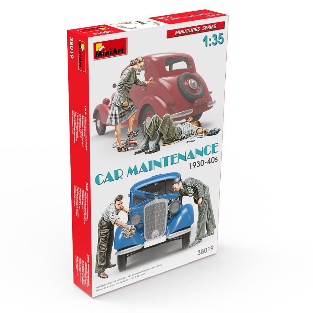 1/35  Car Maintenance 1930-40s
