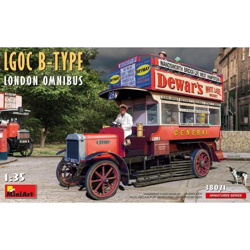 1/35 LGOC B-Type London Omnibus