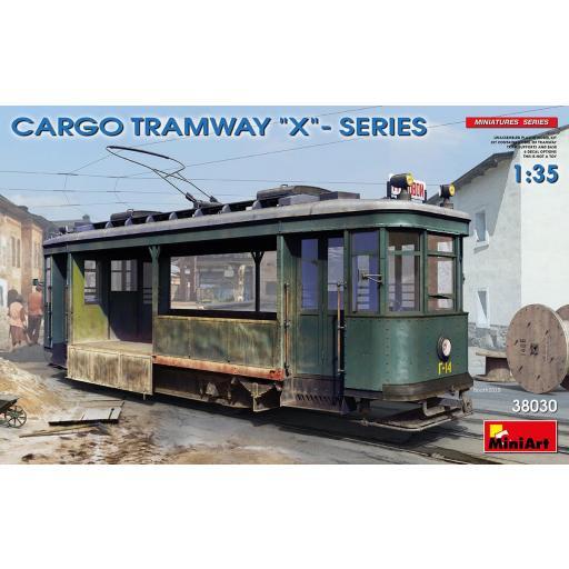 "1/35  Tranvía Cargo Tramway ""X"" Series"