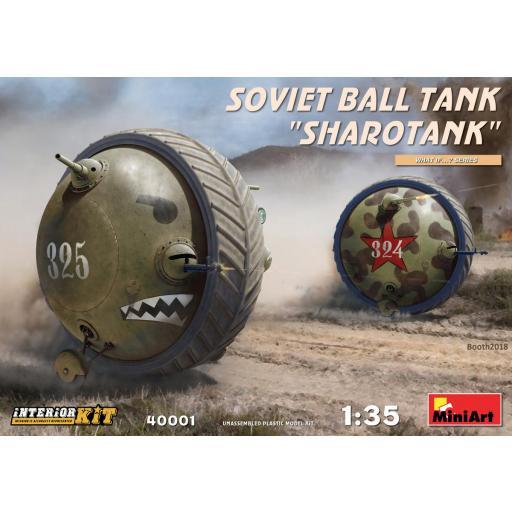 """1/35 Soviet Ball Tank """"Sharotank"""""""