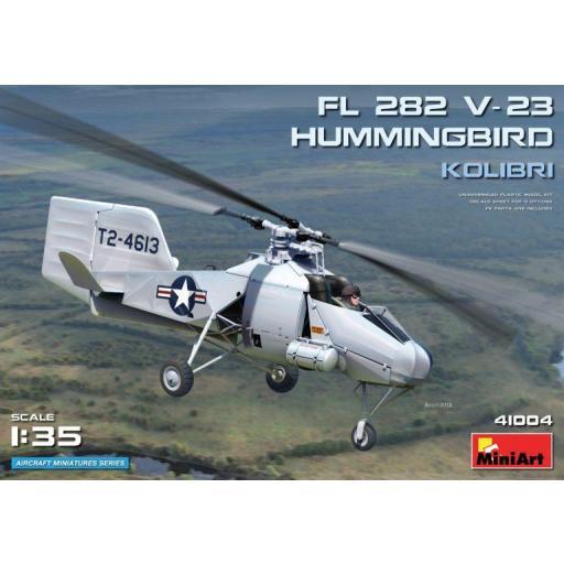 1/35 Helicóptero FL 282 V-23 Hummingbird Kolibri