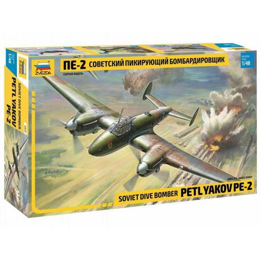 1/48 Petlyakov Pe-2 Soviet Dive Bomber