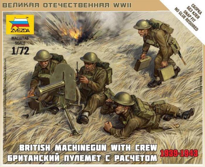 1/72 Ametralladores Británicos, 1939-43