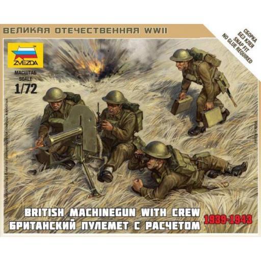 1/72 Ametralladores Británicos, 1939-43 [0]
