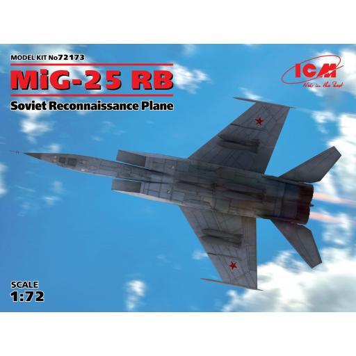 1/72 MiG-25 RB Avión Soviético de Reconocimiento
