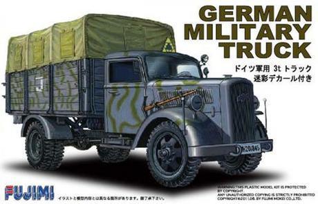 1/72 Camión Alemán OPEL Blitz