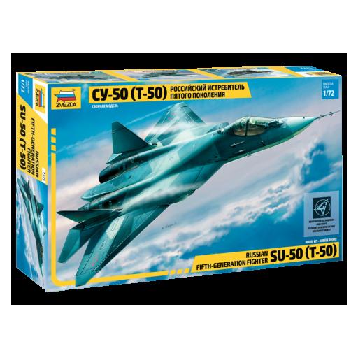 1/72 Caza Ruso Furtivo Quinta Generación SU-50 (T-50)