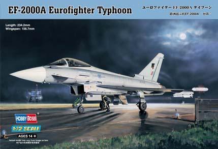 1:72 EF-2000A Eurofigther Typhoon ESP Calcas Españolas