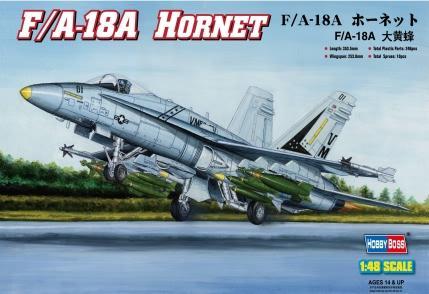 1:48 F/A1-8A Hornet. Calcas Españolas