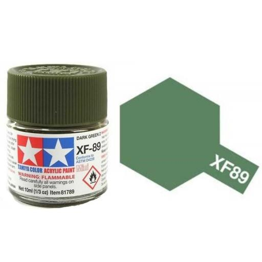 Pintura Acrilica  XF-89, Dark Green 2 [0]