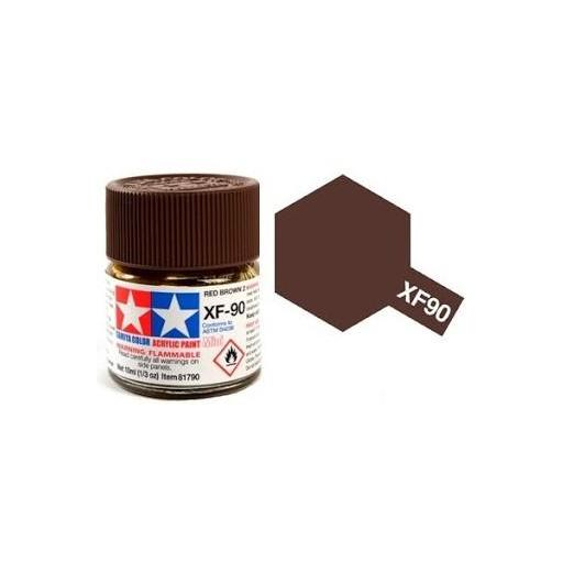 Pintura Acrilica  XF-90, Red Brown 2