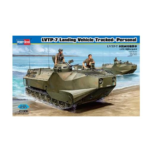 1/35 LVTP-7 Landing Vehicle Tracked-Personnel