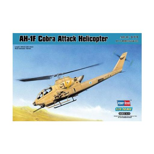 1/72 Helicoptero Ataque AH-1F Cobra