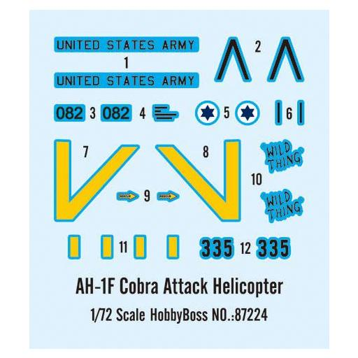 1/72 Helicoptero Ataque AH-1F Cobra [2]