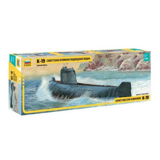 1/350 Soviet Nuclear Submarine K-19