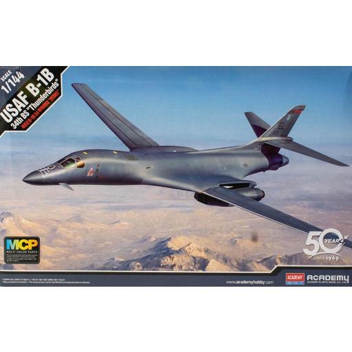 "1/144 USAF B-1B 34th BS ""Thunderbirds"""