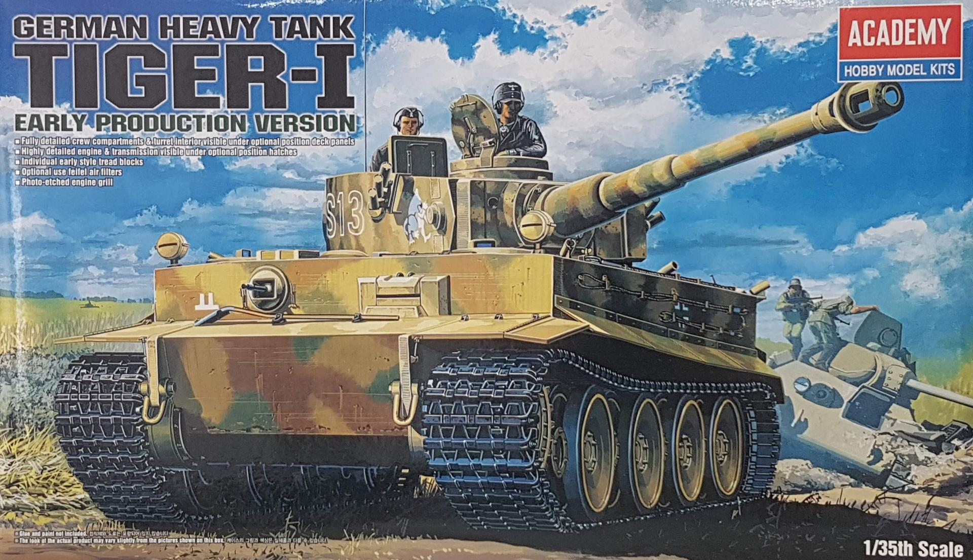1/35 TIGER I  Early Production