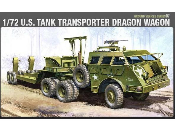 1/72 Camión Americano de Transporte Dragon Wagon
