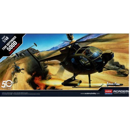 1/48  Helicóptero Hughes 500D Tow Defender
