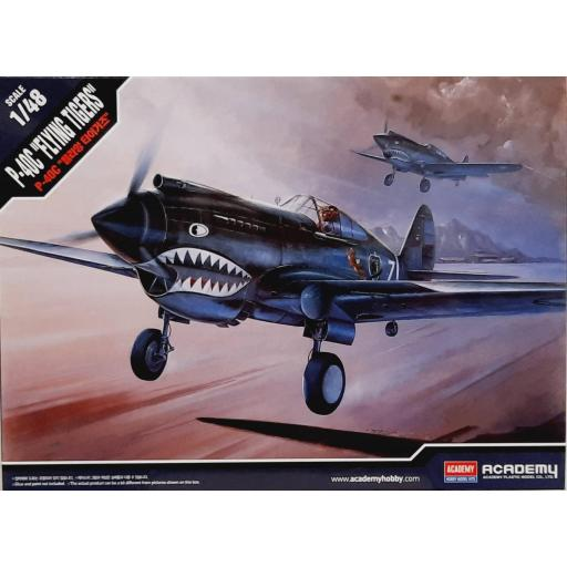 """1/48 P-40C """"Flying Tigers"""""""