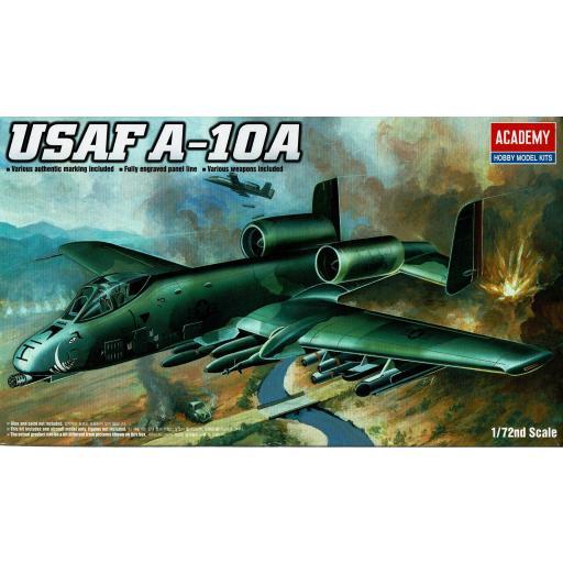 1/72 USAF A-10A THUNDERBOLT II