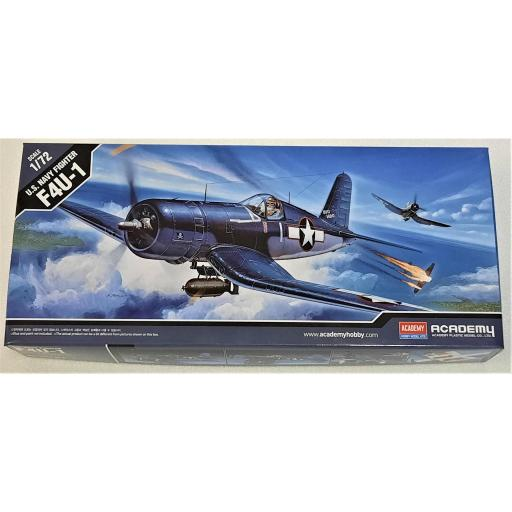 1/72 U.S. Navy Fighter F4U-1 Corsair