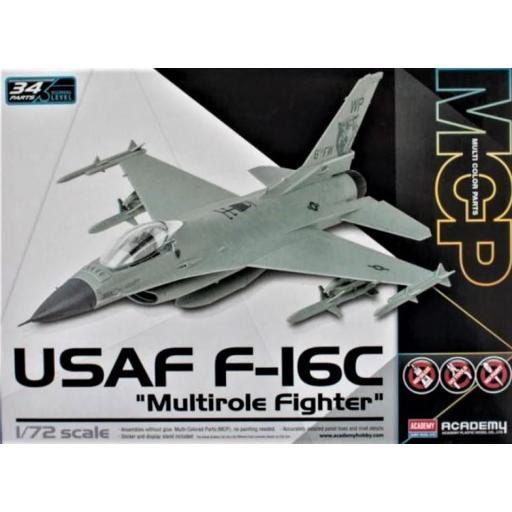 1/72 USAF F-16C Multirole Fighter