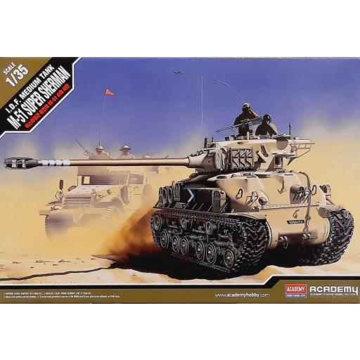 1/35 IDF Medium Tank M-51 Super Sherman