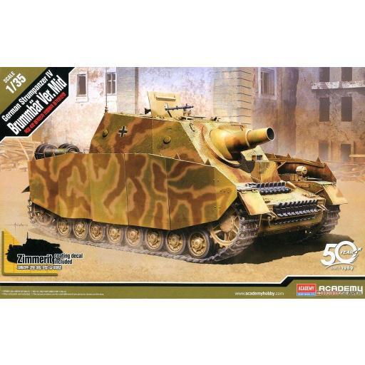 1/35 German Strumpanzer IV Brummbär Ver.Mid