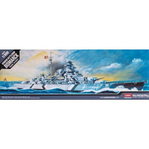 1/800 German Battleship Bismarck
