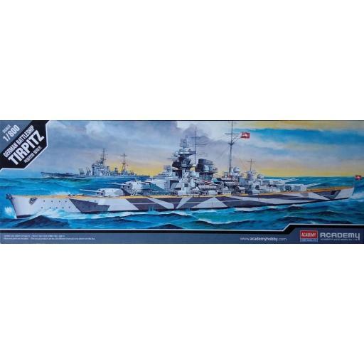 1/800 German Battleship Tirpitz