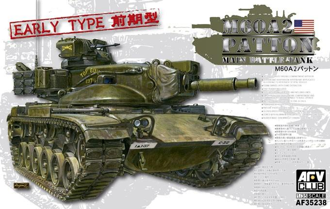 1/35 M60A2 Patton MBT Early Type