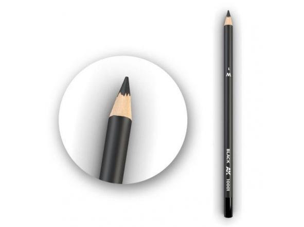 Black Weathering Pencil