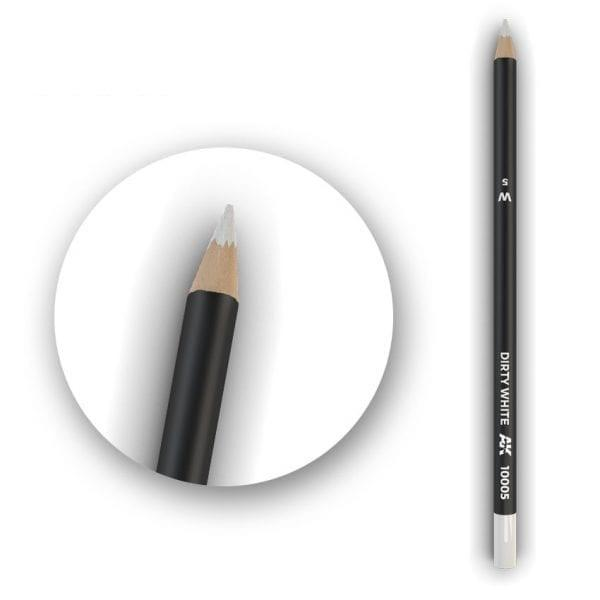 Dirty White Weathering Pencil