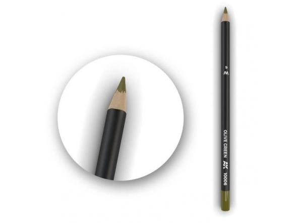 Olive Green Weathering Pencil