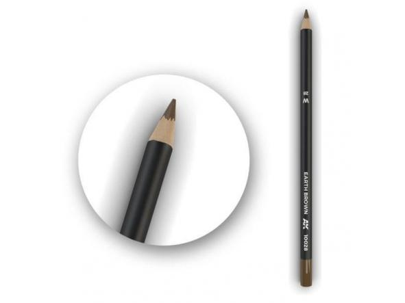 Earth Brown Weathering Pencil