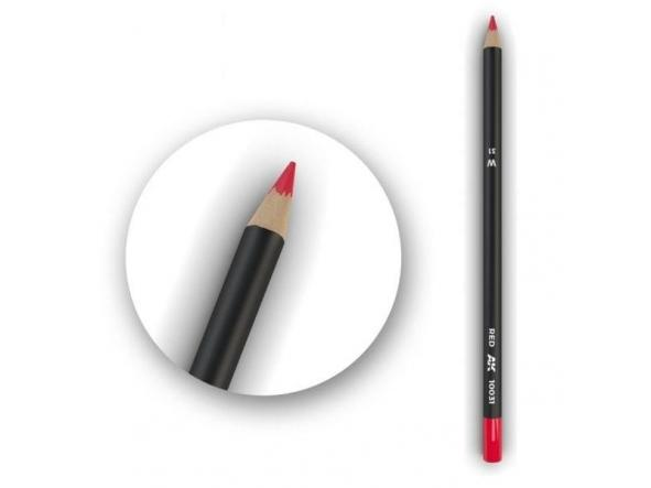 Red    Weathering Pencil