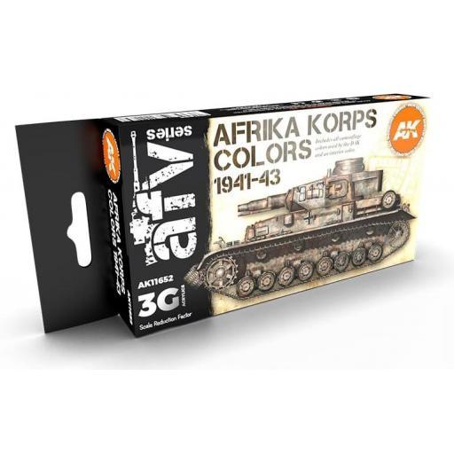Set Colores 3G Afrika Korps 1941-43