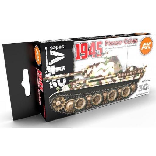 Set Colores 3G Panzer Alemanes 1945