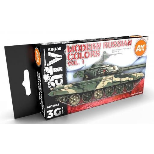 Set Colores 3G Vehículos Rusos Modernos - Vol 1